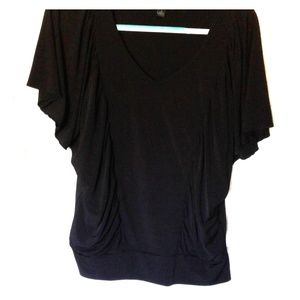 Beautiful fitted batwing blouse